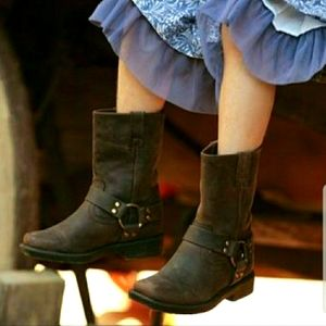 Frye Harness Kids Pull On Boots